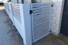 modular fence aluminum gate