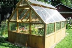 backyard green house