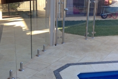Stainless Steel Frameless Glass Pool Fencing