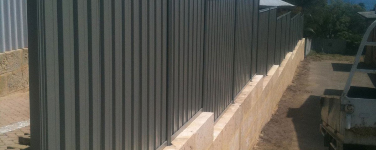 Colorbond Fencing by Bears Fencing Dunsborough