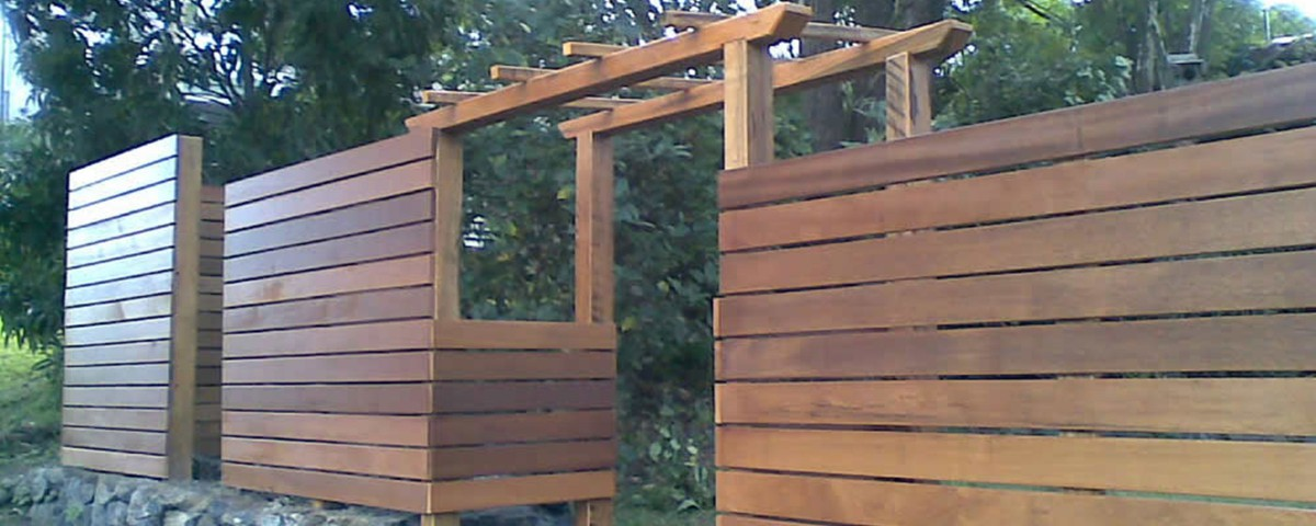 Custom Timber Fencing by Bears Fencing Dunsborough