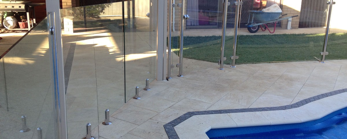 Stainless Steel Frameless Glass Pool Fencing by Bears Fencing