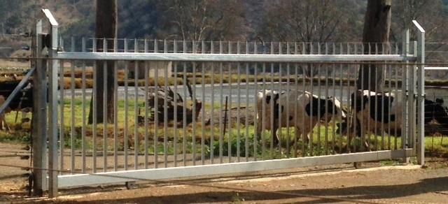 silver Palisade Gates
