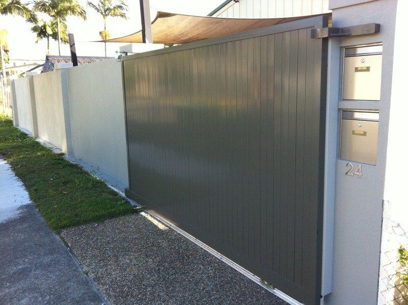 powder coated gate