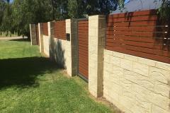 western red cedar aluminum slats