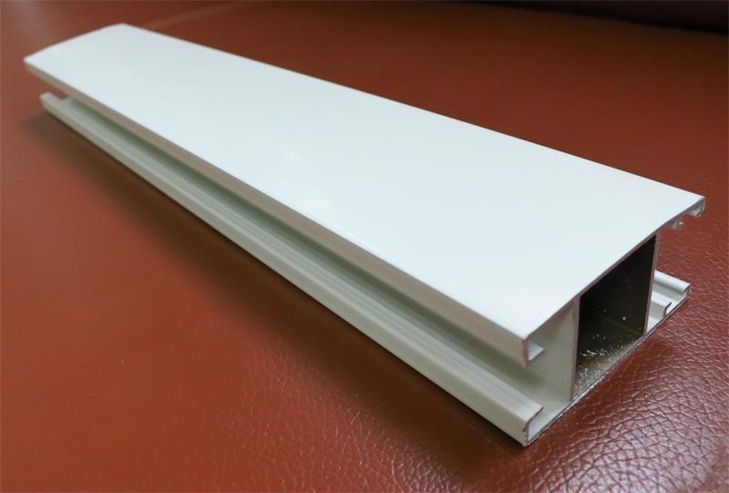 powder coated aluminum beam